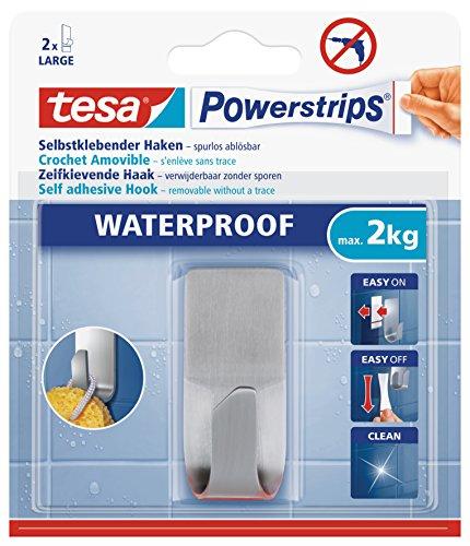 tesa Powerstrips Haken wasserfest, 1 Stück