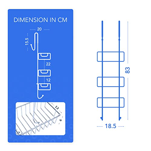 Bamodi Duschablage zum Hängen - 4