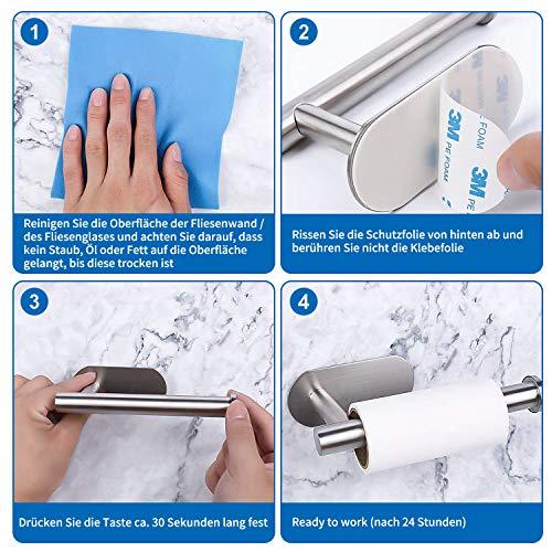 Omasi Toilettenpapierhalter selbstklebend - 4