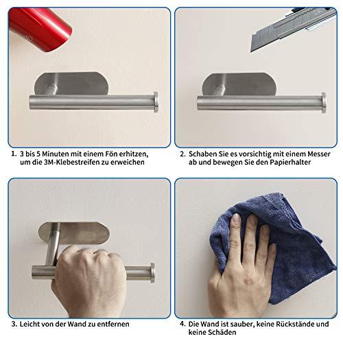 Omasi Toilettenpapierhalter selbstklebend - 6