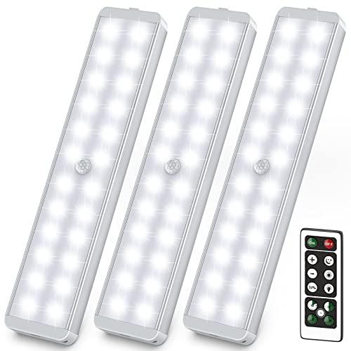 Acokki LED Sensor Licht mit Bewegungsmelder, 3er Pack
