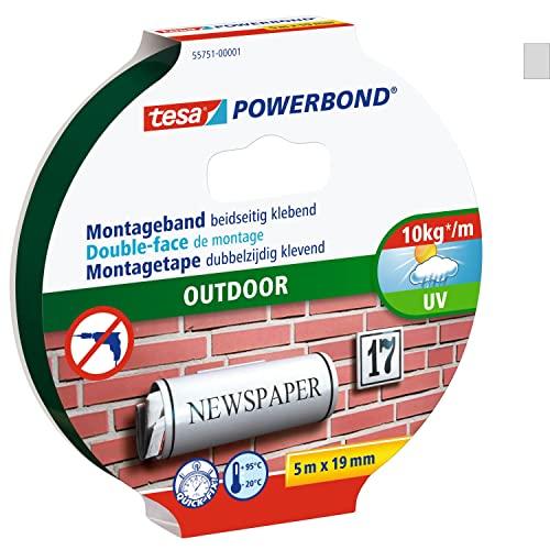 tesa Powerbond Outdoor doppelseitiges Montageband