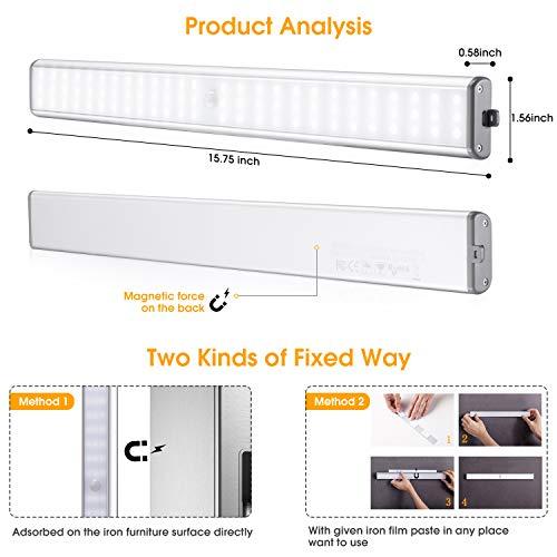 Moston LED-Unterbauleuchte mit Bewegungsmelder - 3