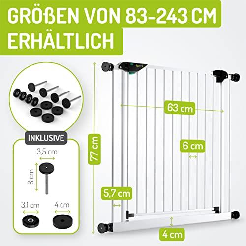 BOMI Treppenschutzgitter Mira XXL zum Klemmen - 2