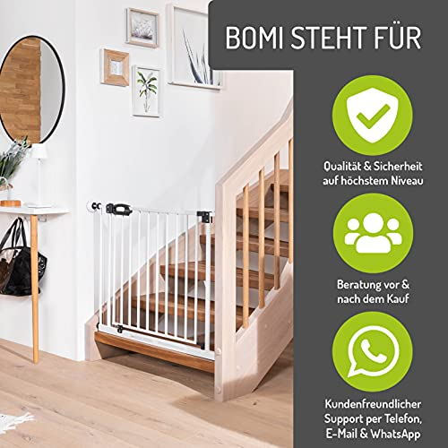 BOMI Treppenschutzgitter Mira XXL zum Klemmen - 7