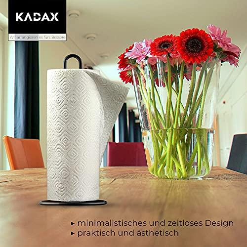 KADAX Küchenrollenhalter schwarz, stehend - 7