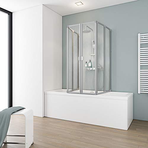 Schulte Duschabtrennung faltbar für Badewanne