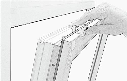 Deco Company Aluminium-Jalousie zum Klemmen - 7