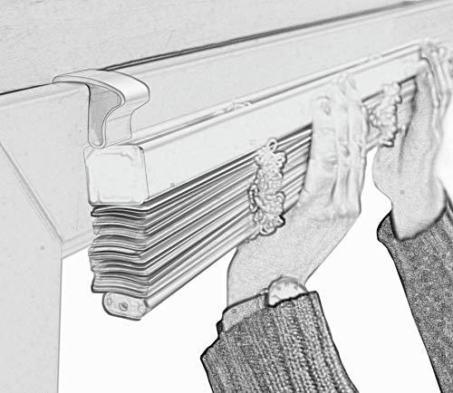 Deco Company Aluminium-Jalousie zum Klemmen - 10