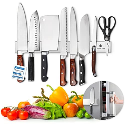 Exitoso® Das Original- Messer Magnetleiste - selbstklebend