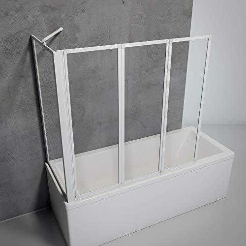 Schulte D133070 04 50 Smart Duschabtrennung für Badewanne